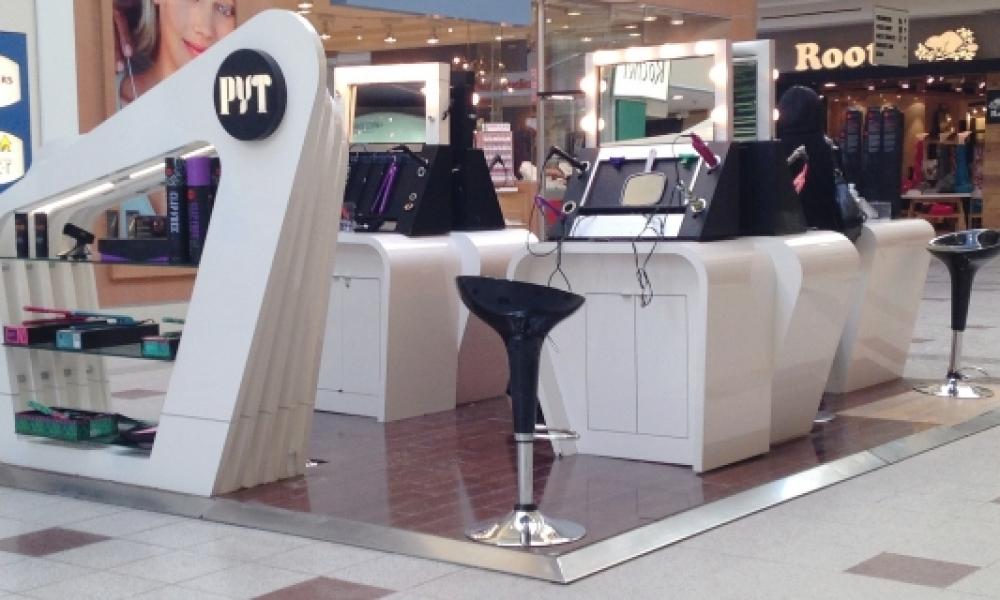 Hair Mall Kiosk Collection