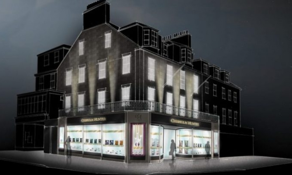 Chisholm Hunter flagship jewellery store in Princes Street £8m