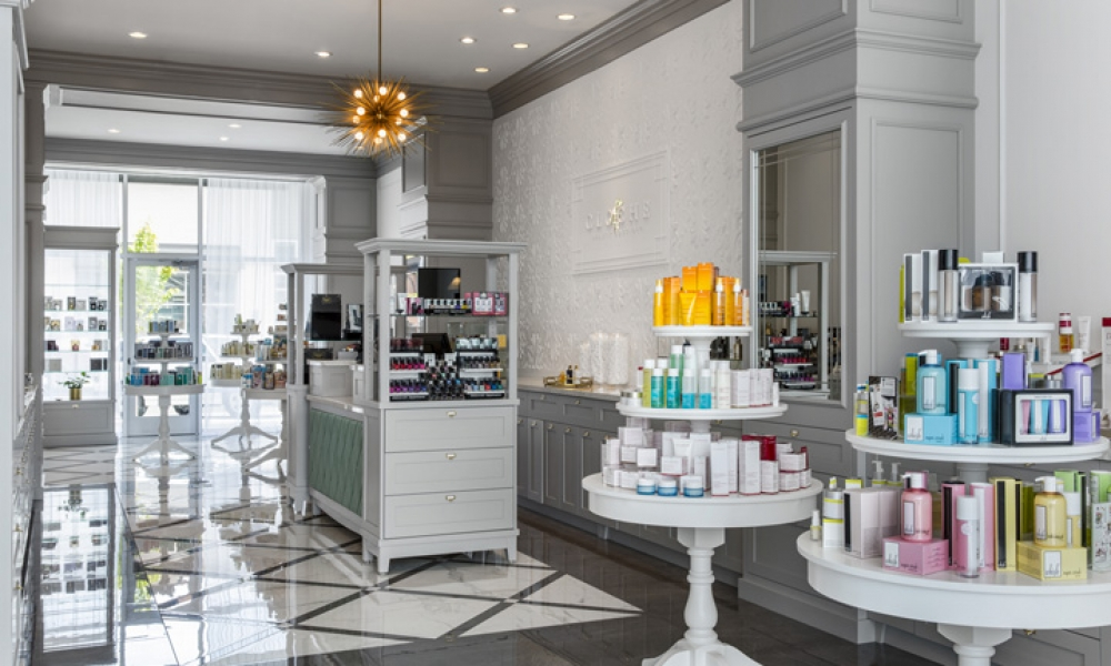 Cloche Beauty Boutique Shop Design
