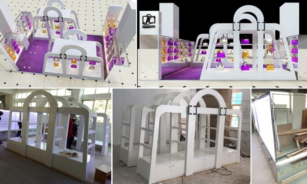 Latest Corian Kiosk | M2 Display