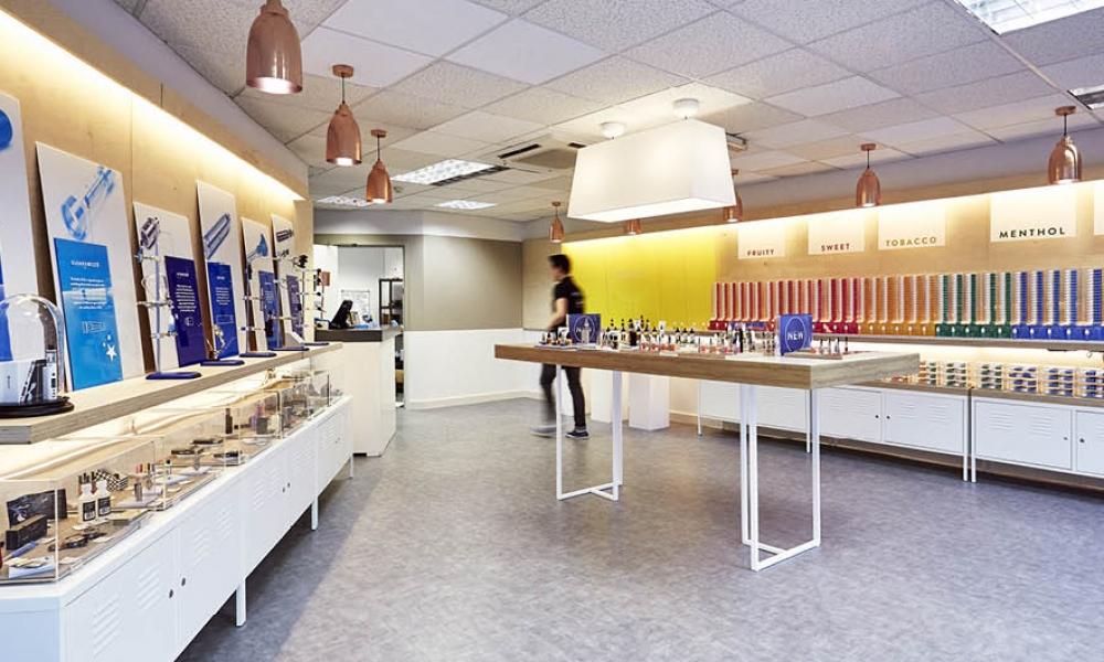 E-CIG WIZARD Shop Design