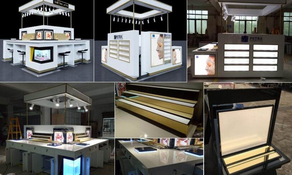 Latest Cosmetics Kiosk- New Year' s Day coming | M2 Display