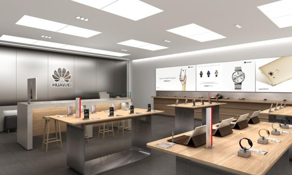 HUAWEI Phone Retail Shop Design