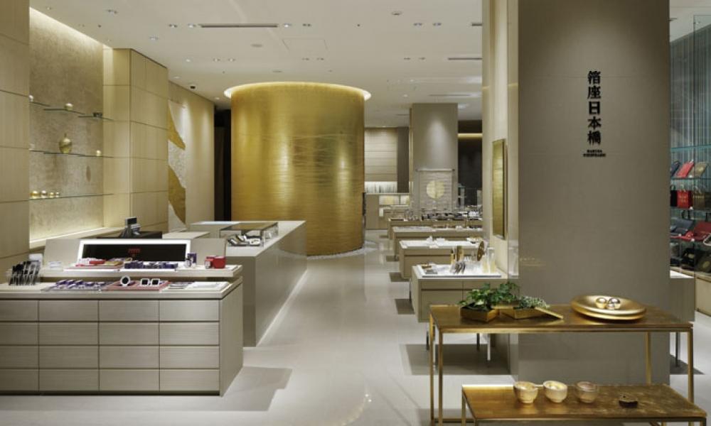 Hakuza Nihonbashi Jewellery Store Design, Tokyo Japan