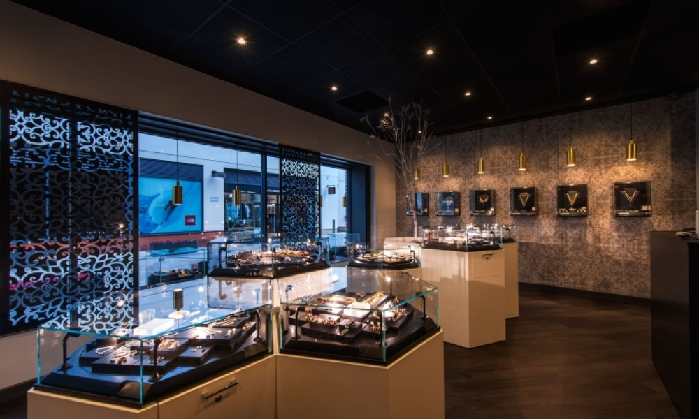 Lille Perle Jewellery Retail Store Design, UK
