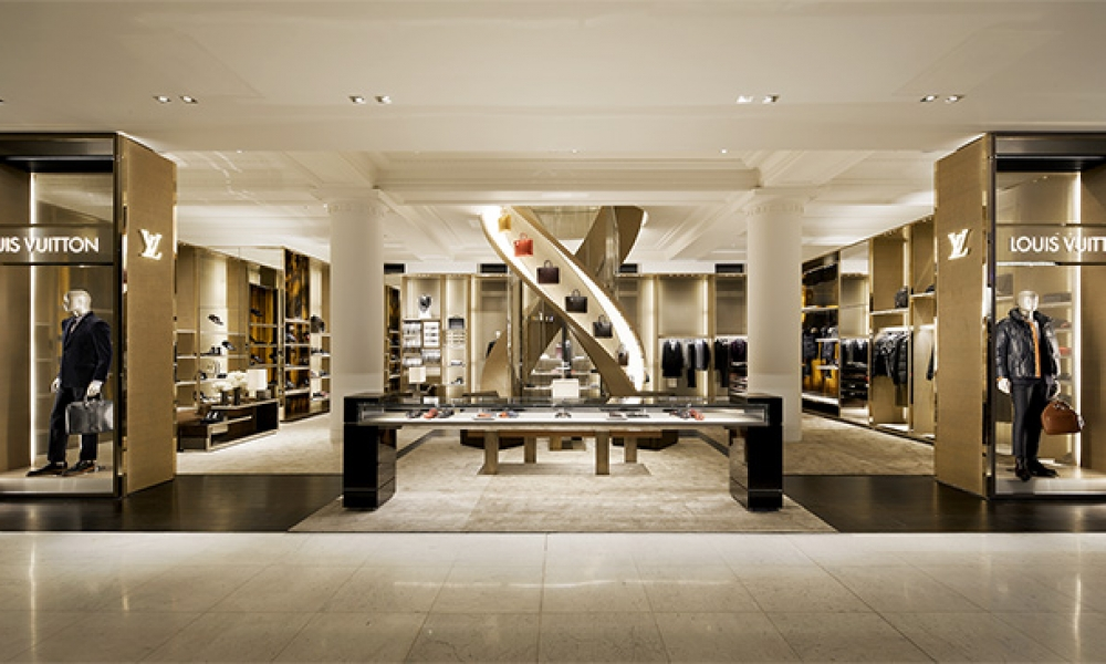 Louis Vuitton Townhouse Shop Design
