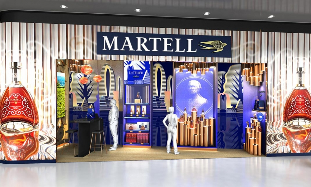 Maison Martell liquor boutique Sharing-Maison Martell and China Duty Free Group to unveil pioneering boutique in Haitang Bay