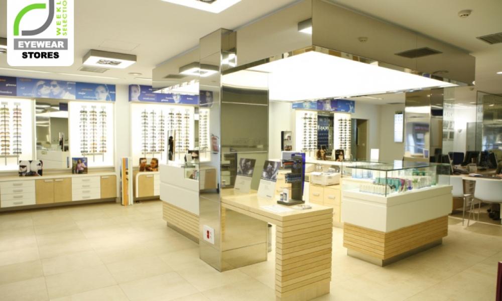 Multiopticas Elias Optical Store Design in Spain