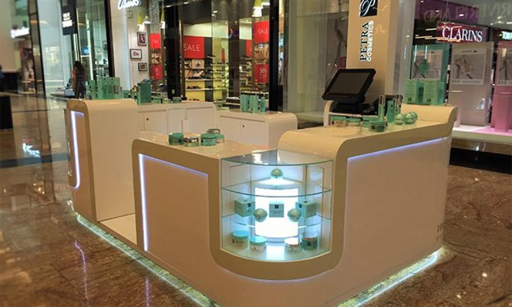 Petra Cosmetics Mall Kiosk Design