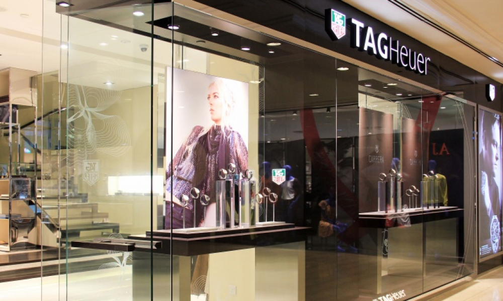 TAG Heuer Watch Store Design
