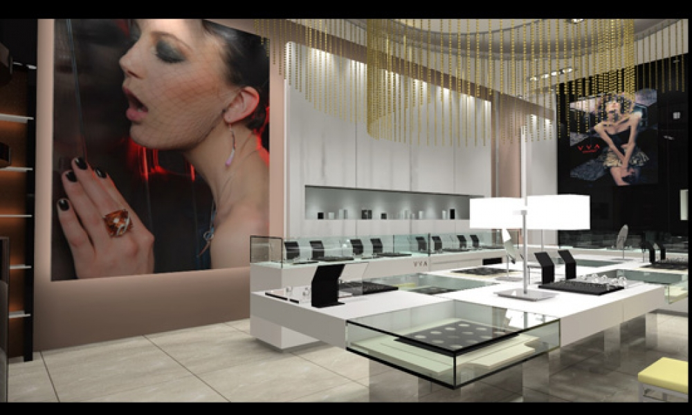 VVA Jewellery Retail Shop Modern Design