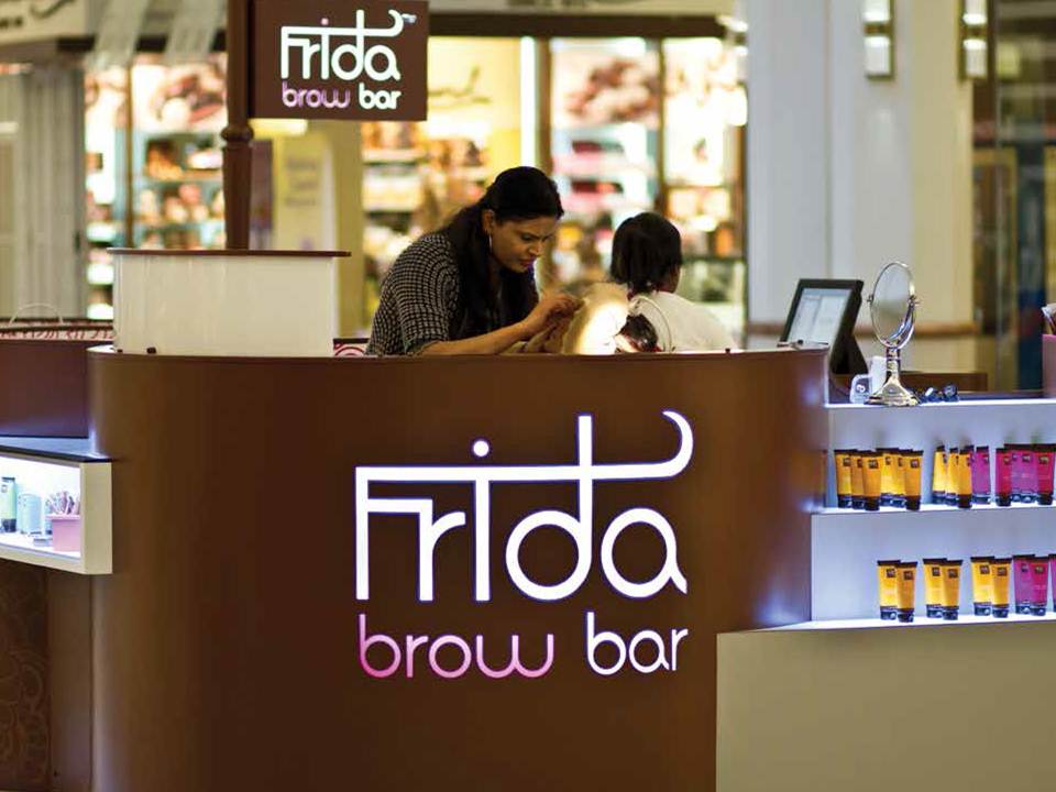 Frida Eyebrow Bar design