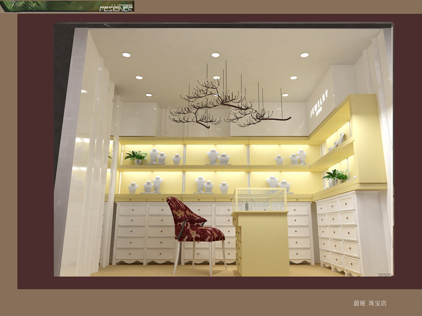 wooden jewelry kiosk house for shopping center