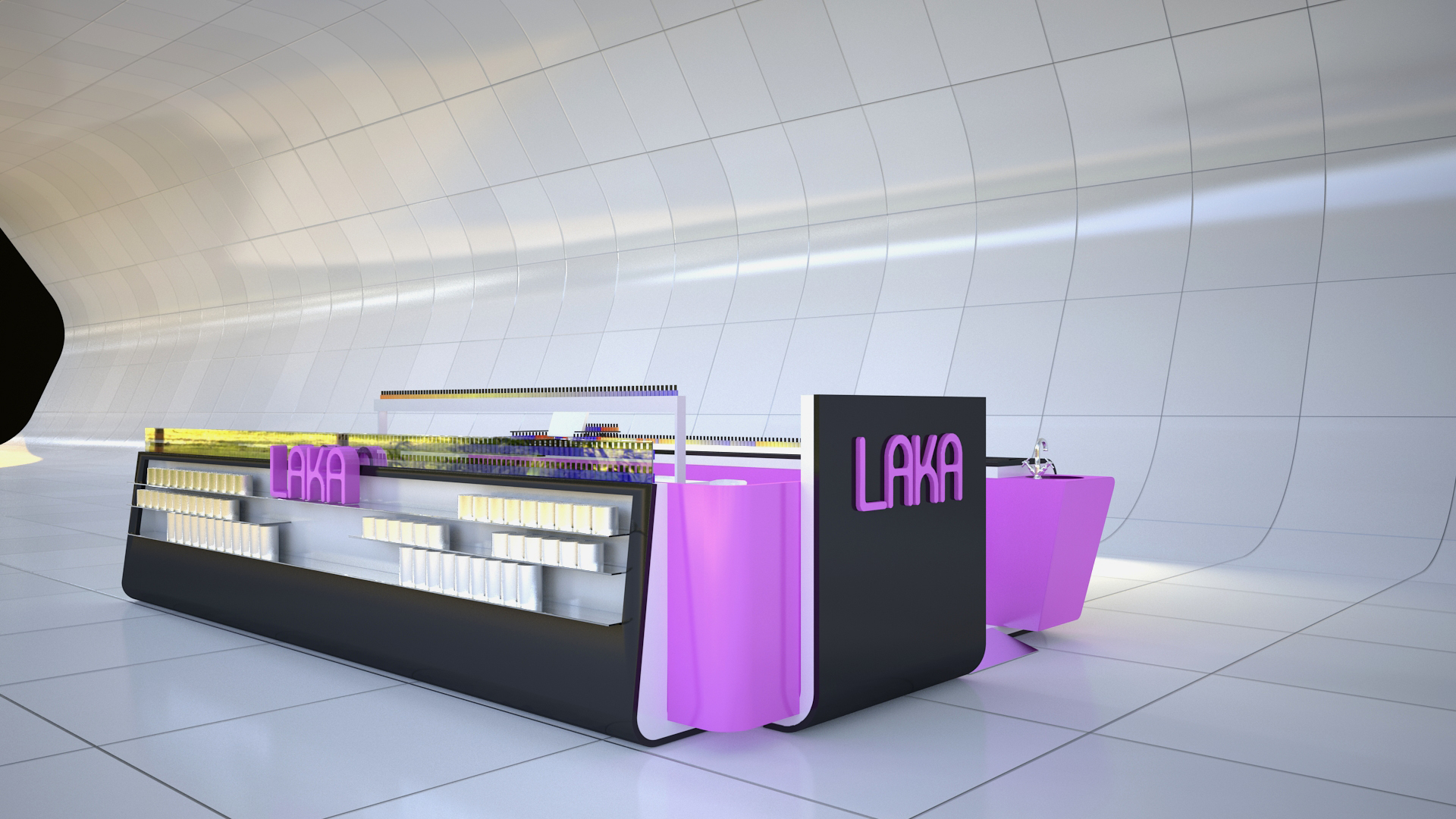 latest laka nail express kiosk