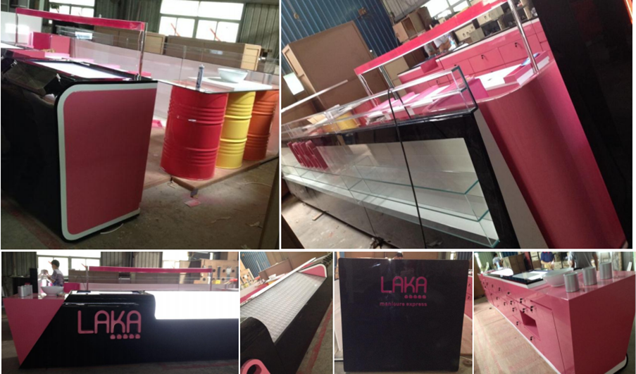 latest laka nail kiosk production photo