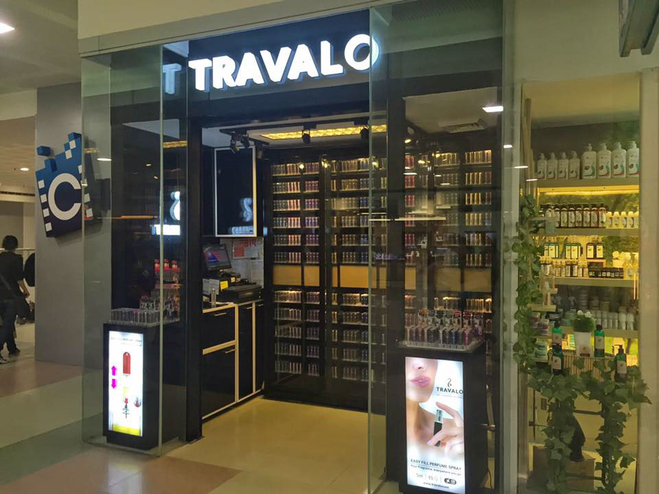 manufacture TRAVALO Perfume Retail Shop Design