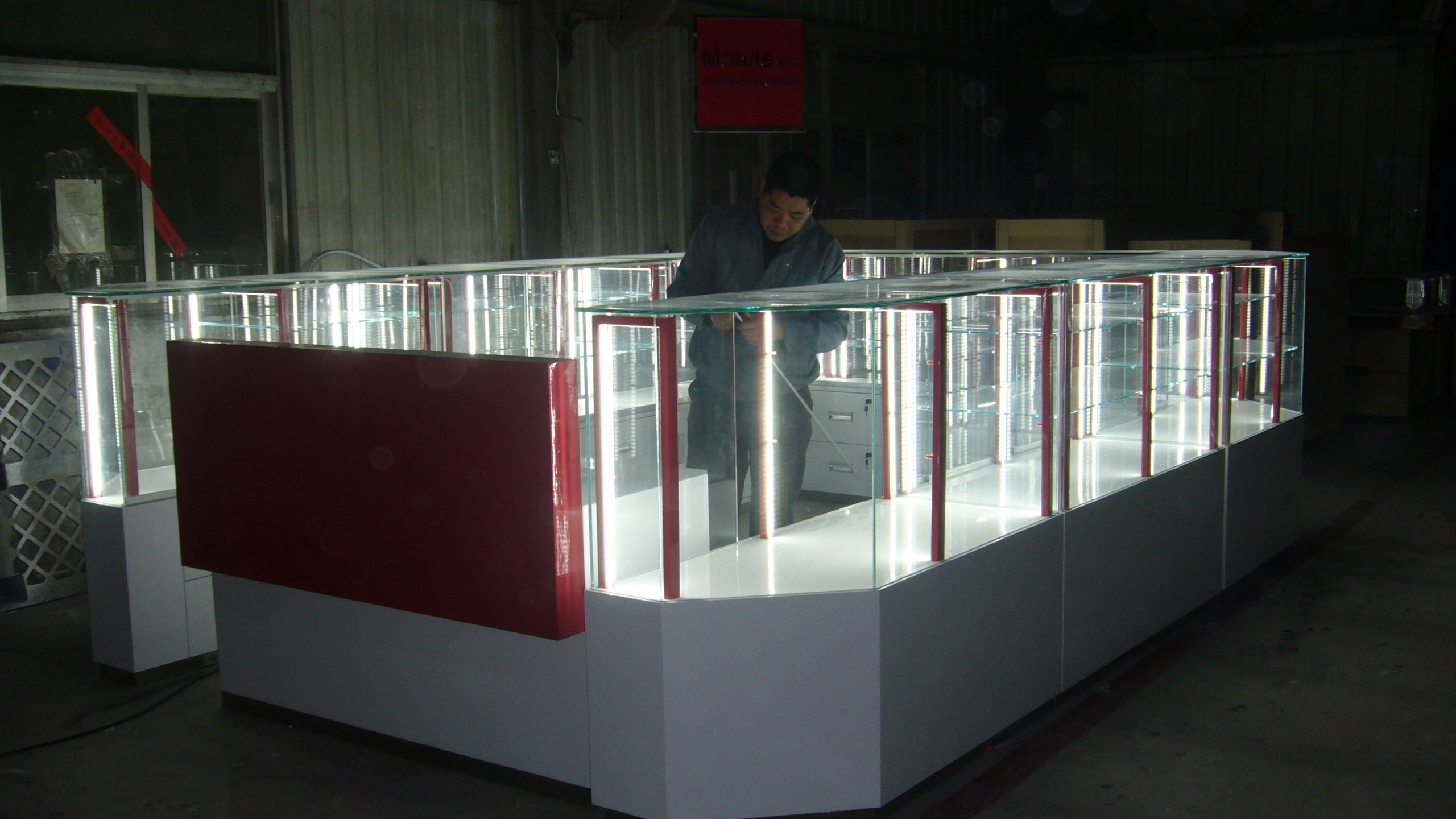 china supply Mobile Repair & Accessories mall kiosk design
