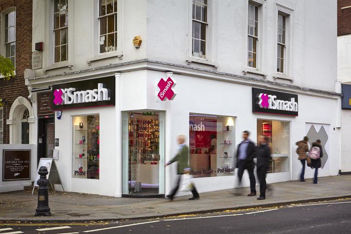 ismash phone repair experience shop uk