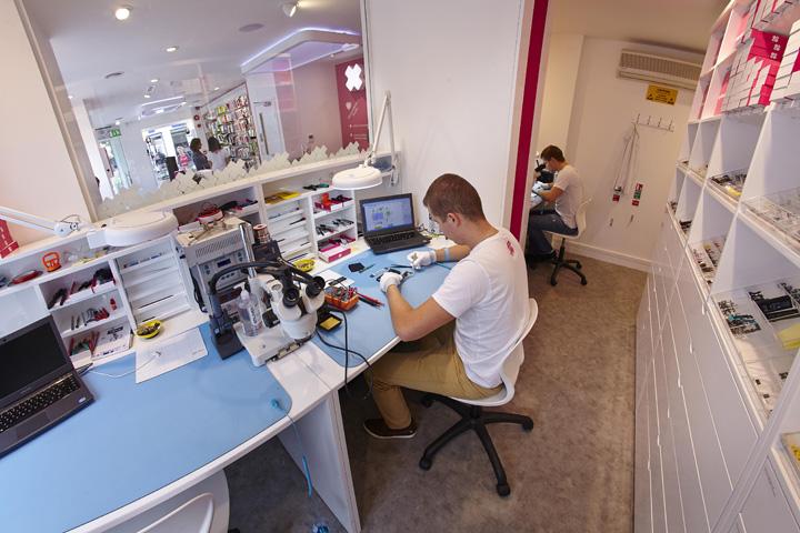 ismash repair work table for phone repair staion