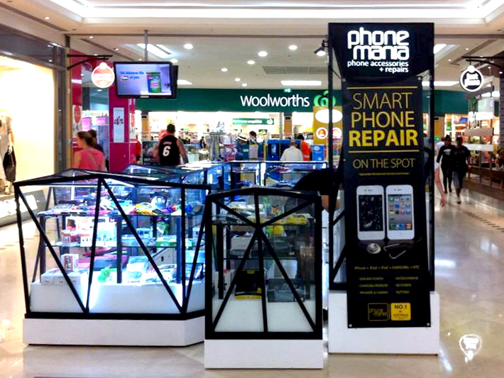 phone mana mall kiosk