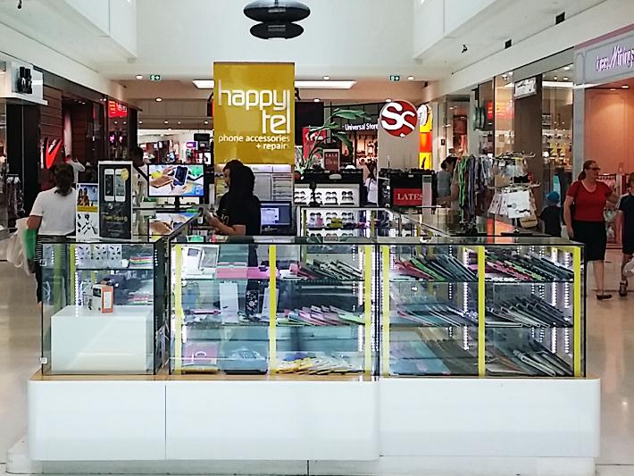LED linear phone mana mall kiosk
