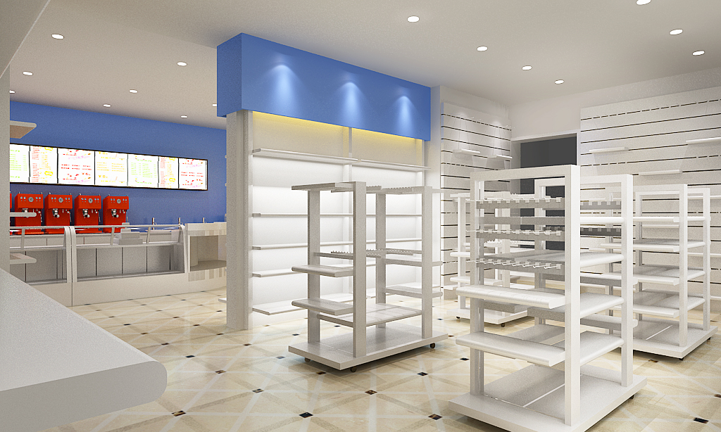 Manufacture Japan Candy Retail Shop Design