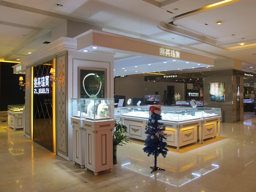 China manufacture Paint Jewelry Retail Shop