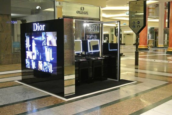 Dior advertise wall is nearly 2m high