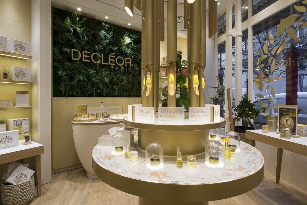 DECLEOR PARIS beauty salon shop design 2017 POPAI AWARDS