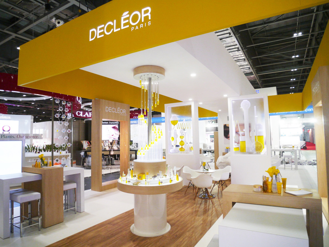 Designed for L'Oréal's skin care brand Decléor for an industry trade fair