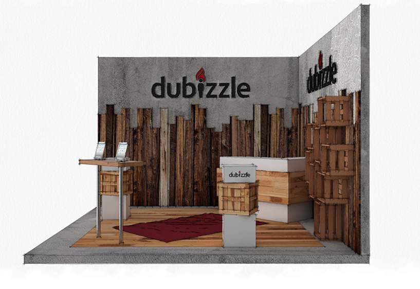 Dubizzle-Display-Stand-at-the-Lynx-Awards-Dubai
