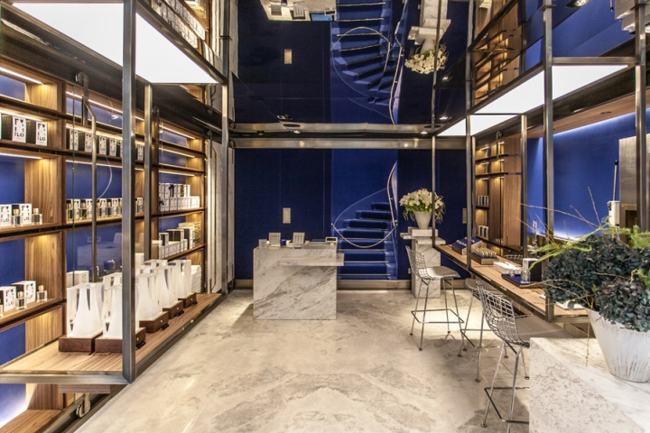 Ex Nihilo Perfume Retail Shop Design M2display Com