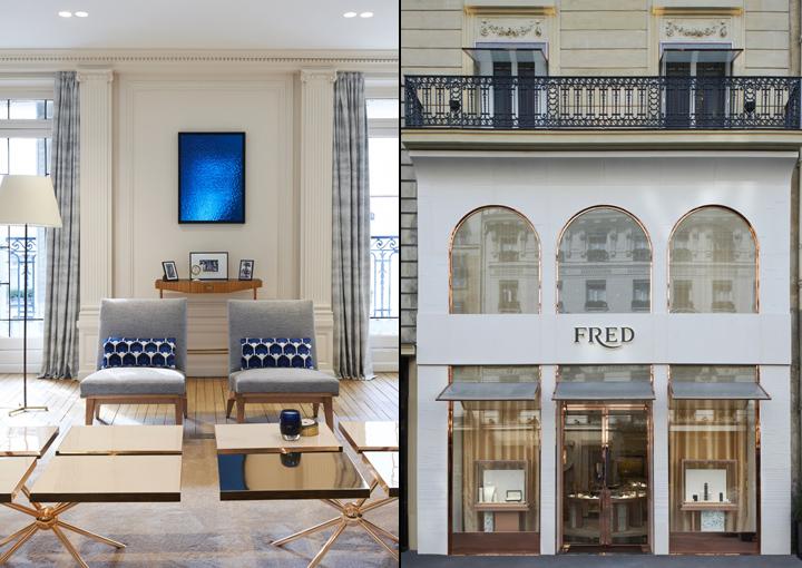 fred jewellery boutique retail shop design paris france. Black Bedroom Furniture Sets. Home Design Ideas