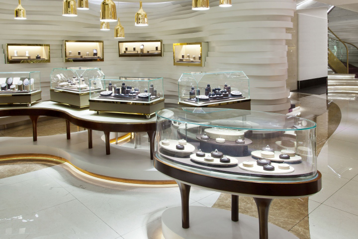 Glass Showcase Jewelry Vitrine Display Jewellery Showroom Shop Fascinating Jewelry Store Interior Design Plans