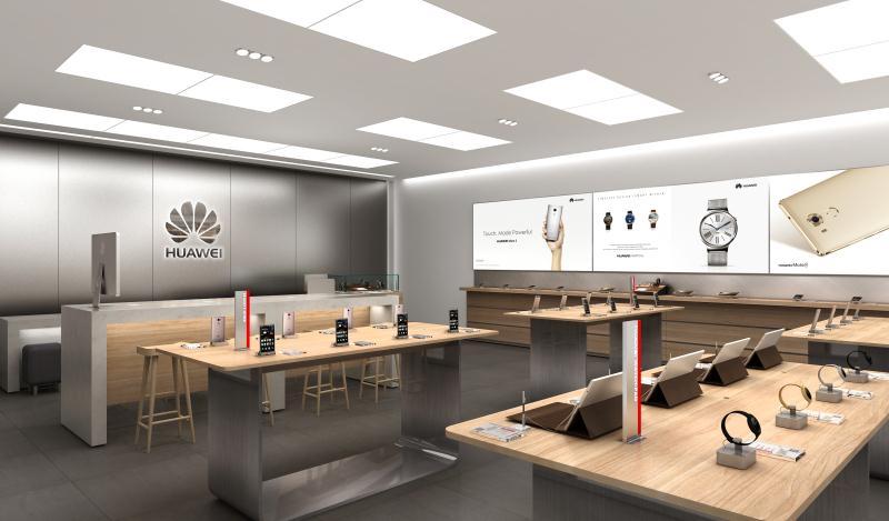 HUAWEI Phone Retail Shop Design