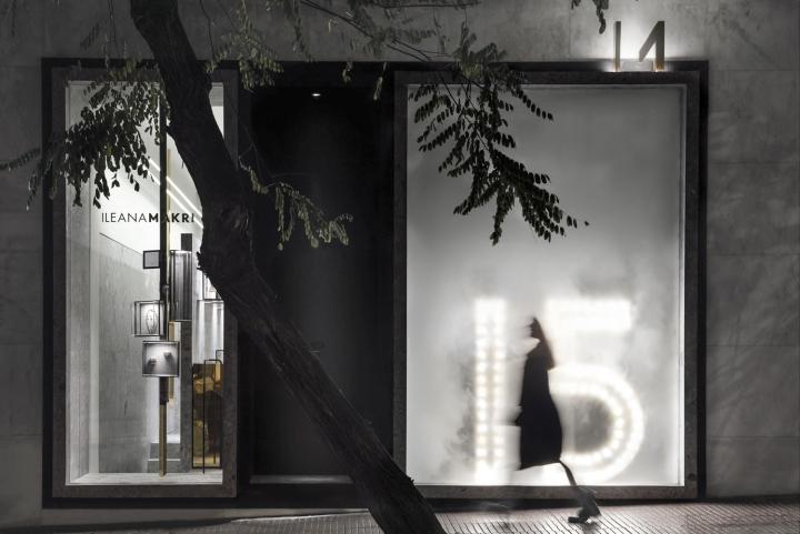 Ileana Makri Jewellery Glass Display Counter