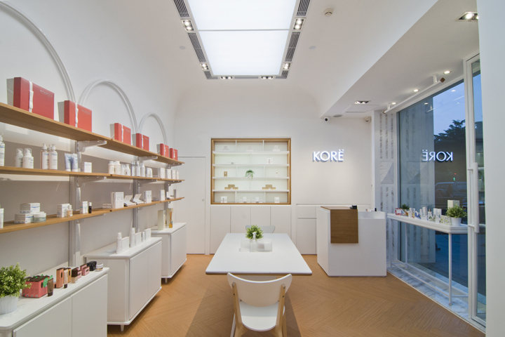Kore Beauty Store, located in Shunde central area, Guangzhou, China