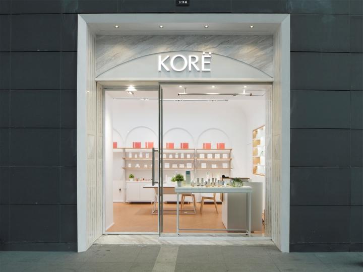 Kore Beauty Store Design, Guangzhou China