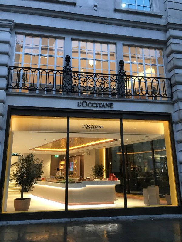 L'Occitane Flagship store on Regent St.