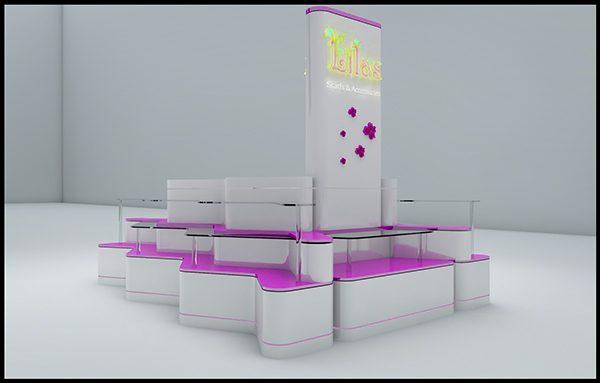 Lailas Scrafts & Accessories Cosmetics Mall Kiosk