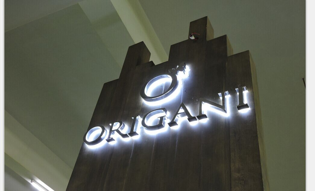 custom Origan cosmetics mall kiosk design