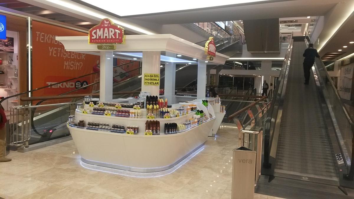 Smart Hair Beauty Products Mall Kiosk Design M2display Com