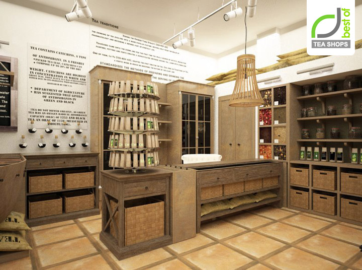 Tea Shop Design M2display Com
