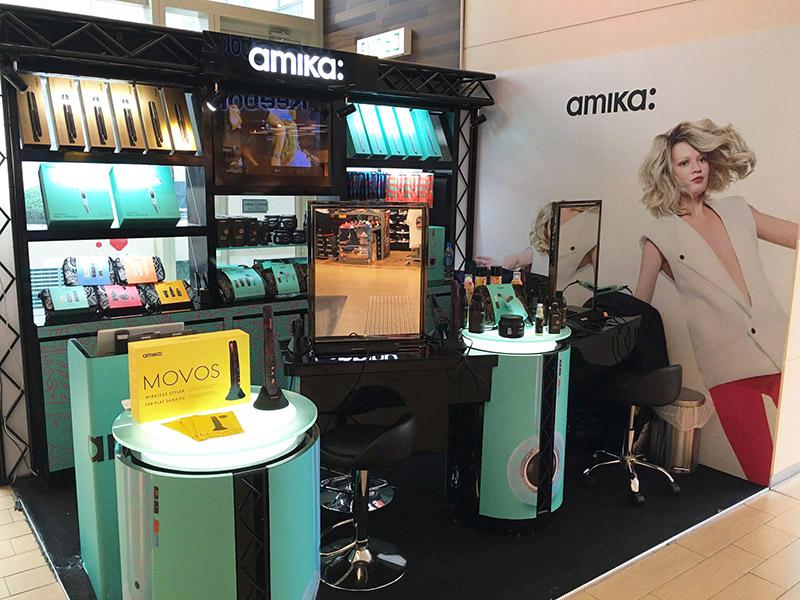 amika hair work demo