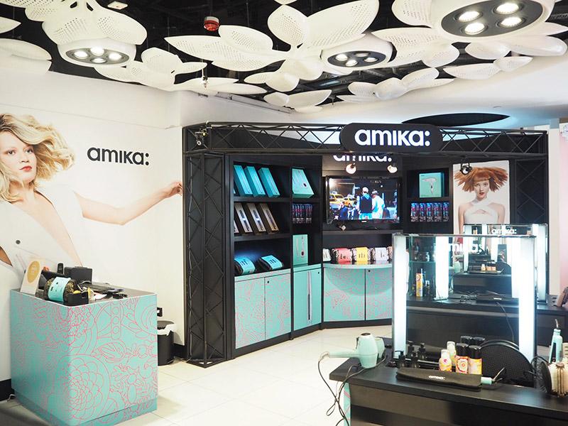 Hysan hair shop till counter design