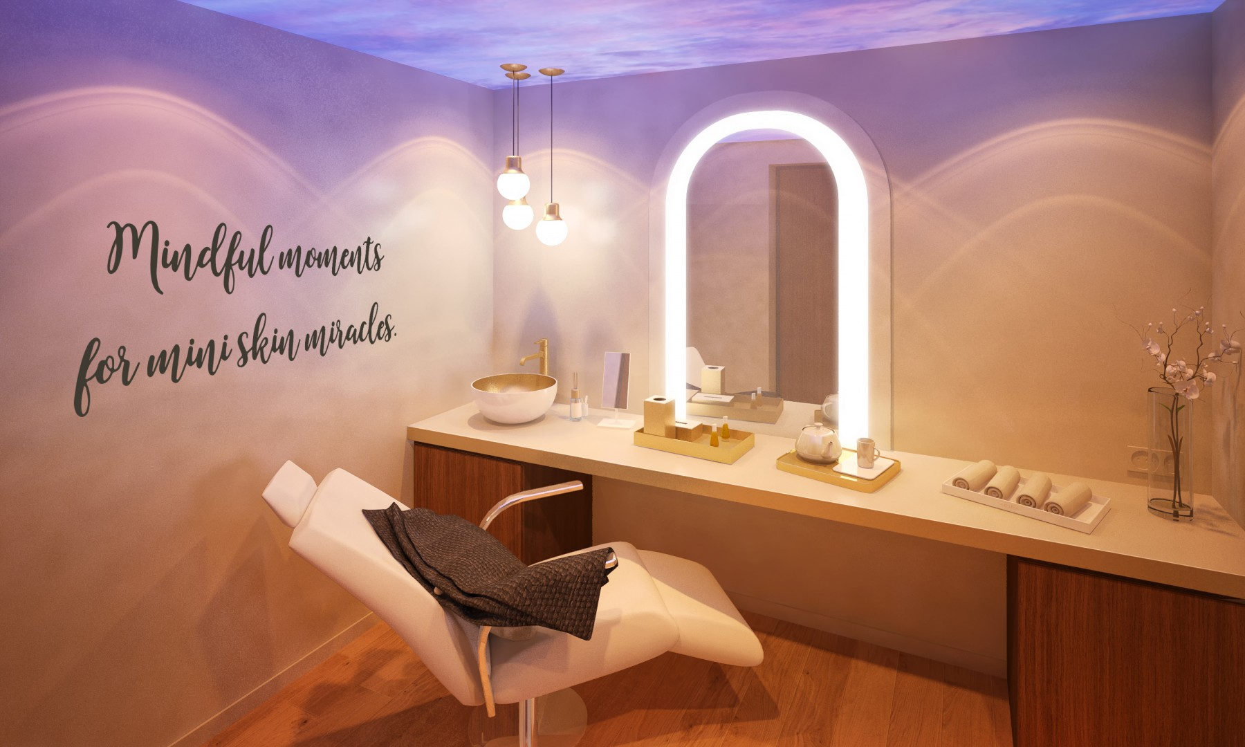 DECLÉOR Beauty Spa shop room