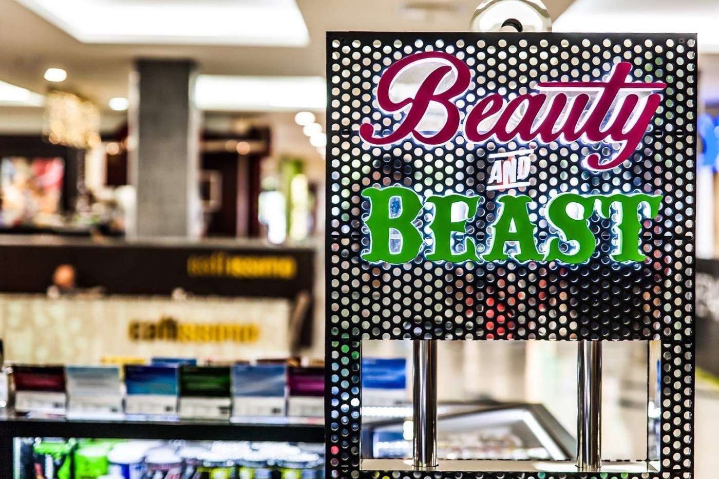 Beauty Beast Muscle Supplement Kiosk 12 SQM