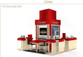 Cartier Perfume Kiosk
