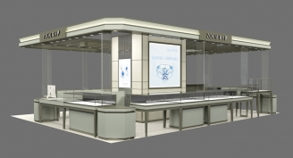 ZOCAI Jewerly Mall Kiosk